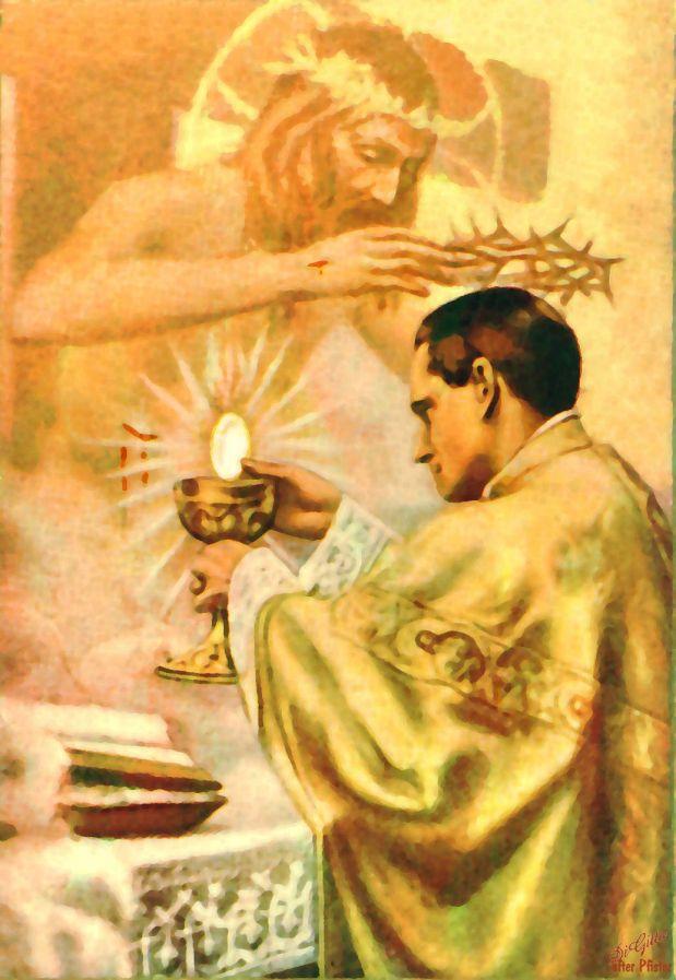 En el jueves sacerdotal…